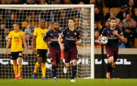 Arsenal ravaged by Wolves in further blow to their Champions League hopes