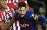Messi sets new Liga landmark as Barca down Atletico in top of table clash