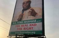 Atiku disowns  billboards, posters that appear in major streets of  Abuja, Yola