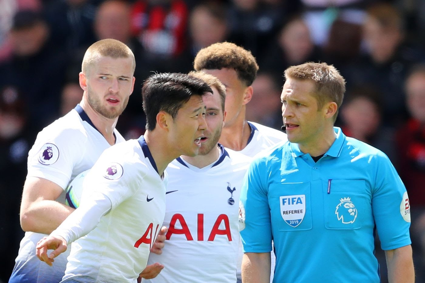 Bournemouth 1 - 0 Tottenham Hotspur: Red cards ultimately doom Spurs