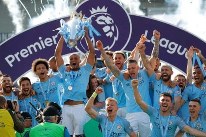 Manchester City pip Liverpool to title with crushing win at Brighton