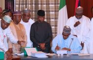 Buhari signs 2019 Appropriation bill of N8.92trillion into law