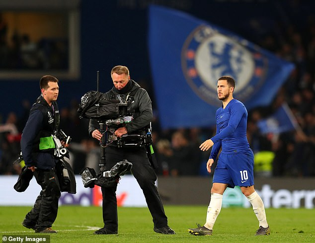 Eden can go: Chelsea will allow Hazard to join Real Madrid in order to balance books despite threat of transfer ban