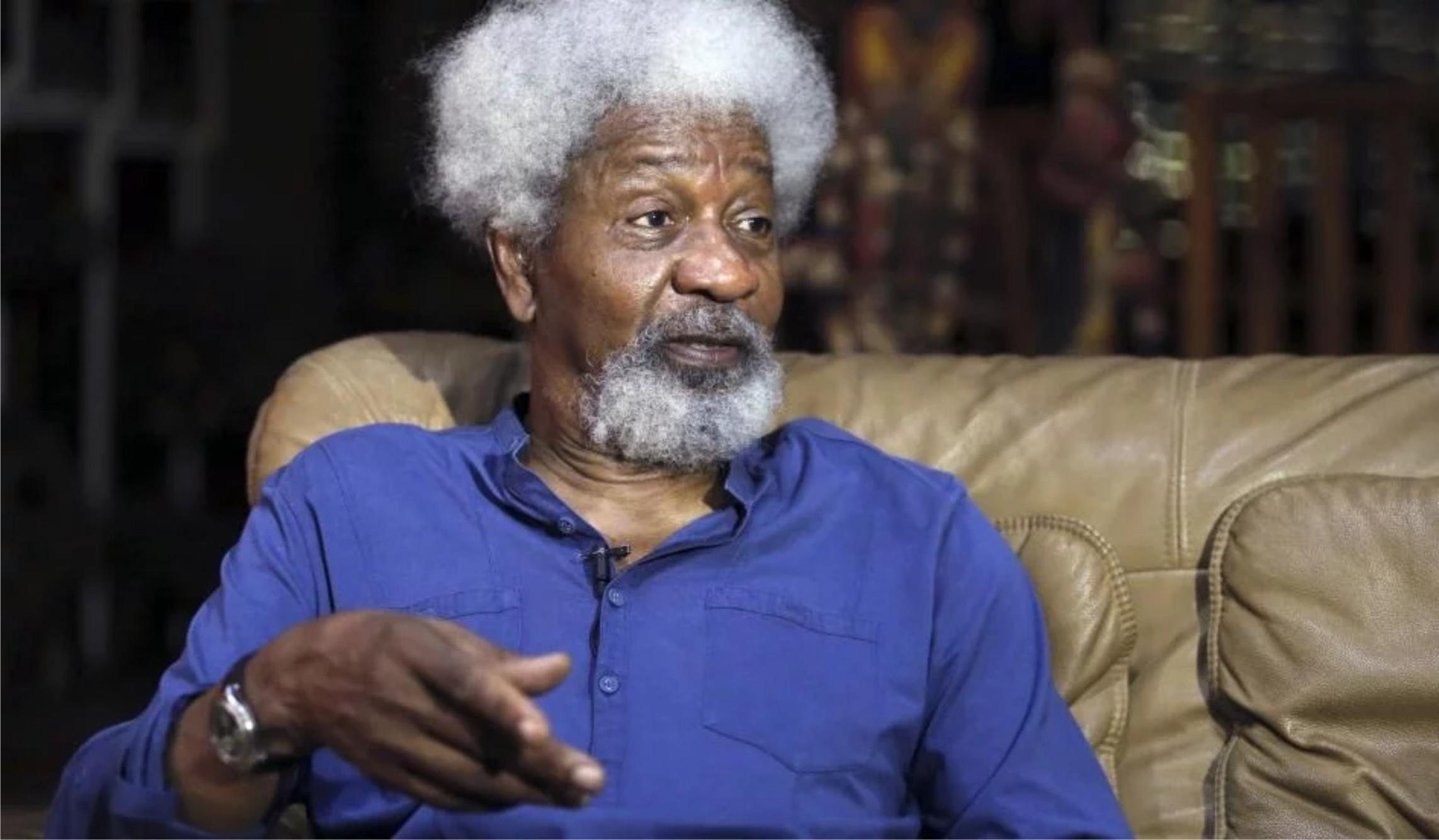 Soyinka compares Leah Sharibu to Mandela, blasts delayed US terror designation of Boko Haram