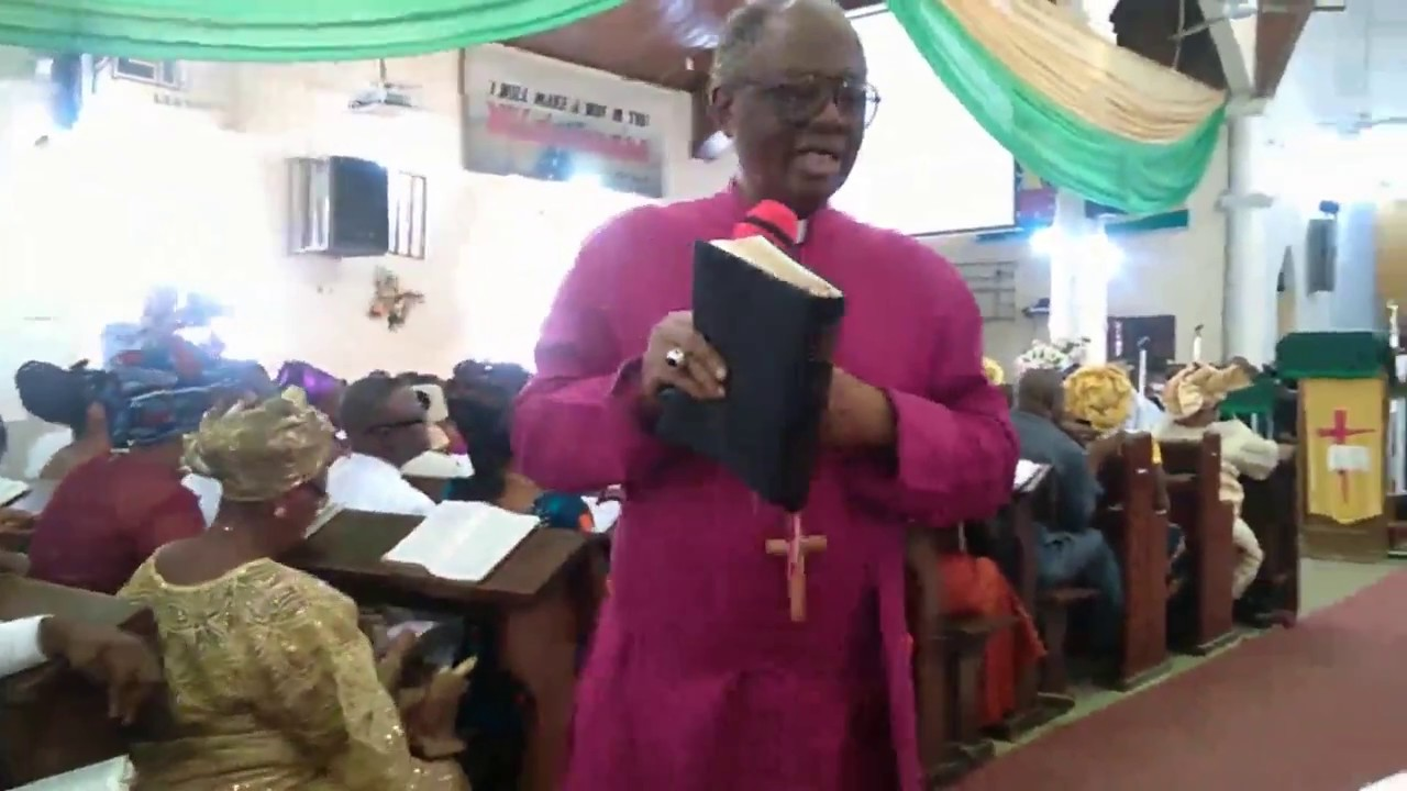Why President Buhari must resign now: Tunde Adeleye, Anglican Archbishop