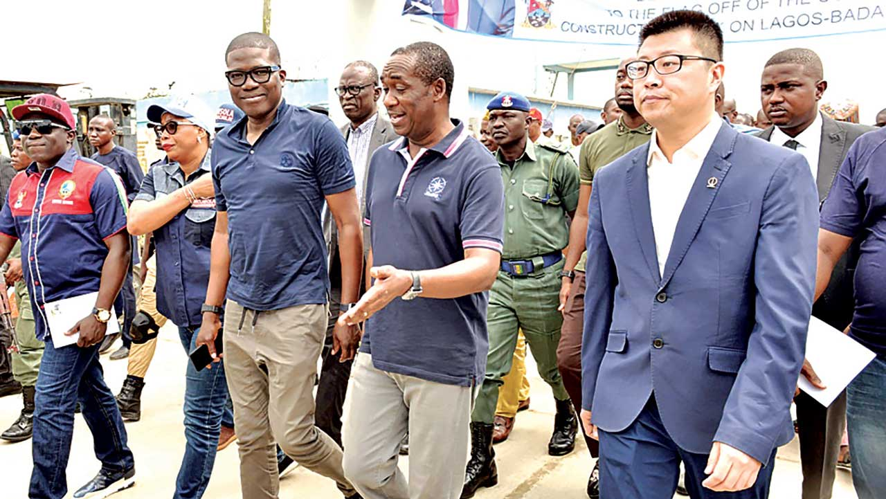 Reconstruction resumes on Lagos-Badagry highway