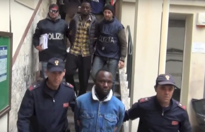 Italian police arrest 19 Nigerian mafiosi in major crackdown