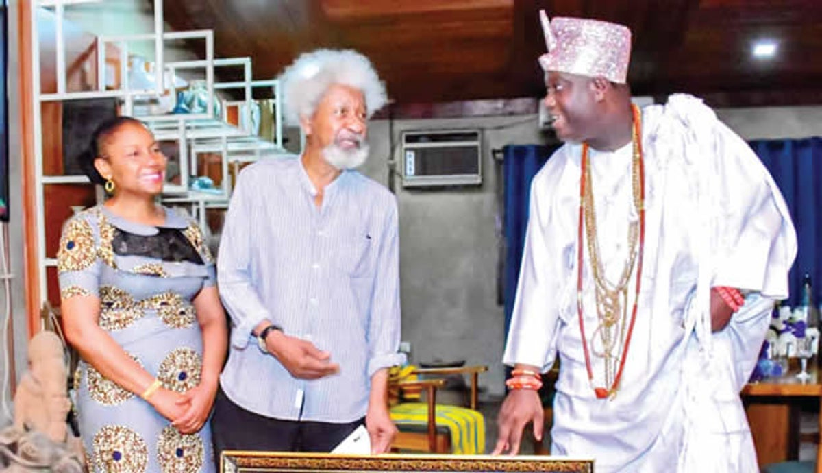 Ruga controversy: Defend your lands, Ooni, Soyinka, tell Nigerians