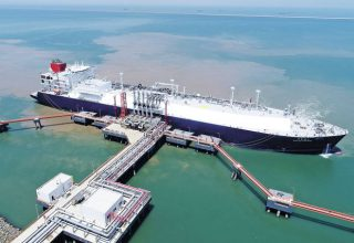Consortium led by Chinese firm to build new LNG terminal