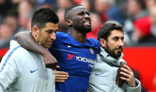 Lampard hopeful over Rudiger as Chelsea defender suffers fresh injury setback