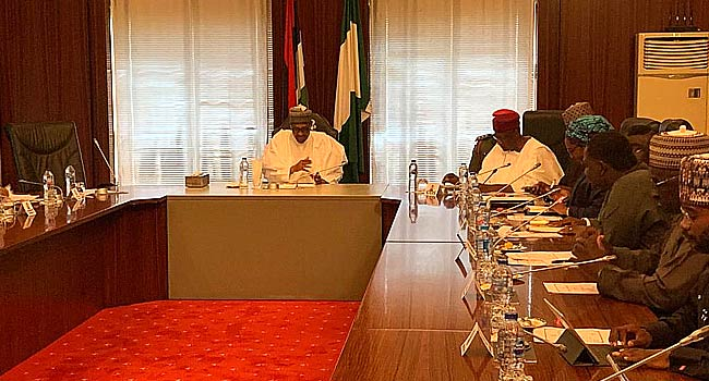 Buhari meets members of Economic Advisory Council