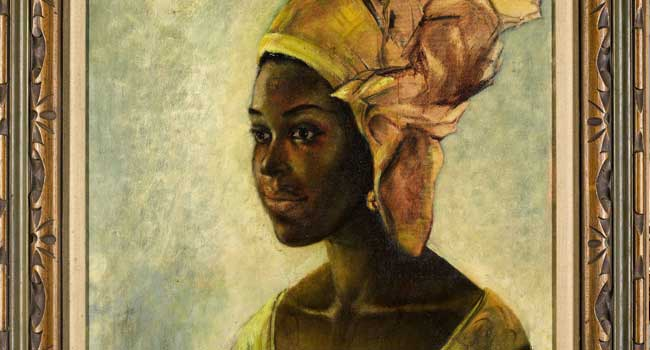 Nigerian painting fetches £1.1m after Google search