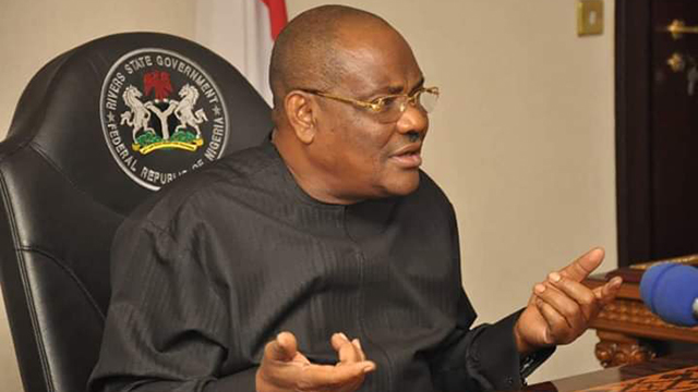 We the governors from Niger Delta requested forensic audit of NNDC from Buhari: Gov. Wike