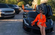 Kylie Jenner shows off new $3 million luxury car, fans upset pointing out people are starving