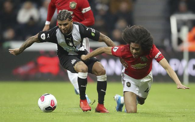 Man United drops to 12th in EPL after losing at Newcastle