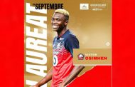 Osimhen wins French Ligue 1 player of the month