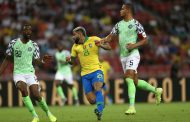 Brazil and Nigeria draw 1-1 as Neymar limps off injured
