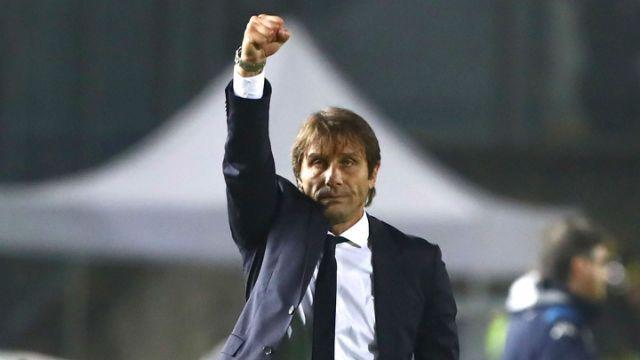 Conte backs Inter's fighting spirit to challenge Juventus