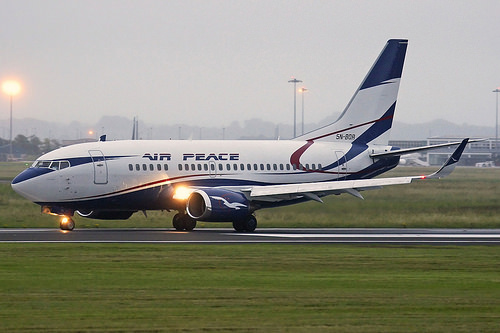 Air Peace plane travelling from Lagos to Owerri develops engine problem mid-air