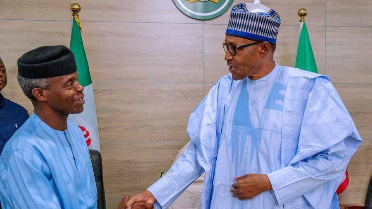 Rumours of cold war at Aso Rock persists as Buhari sacks Osinbajo's aides