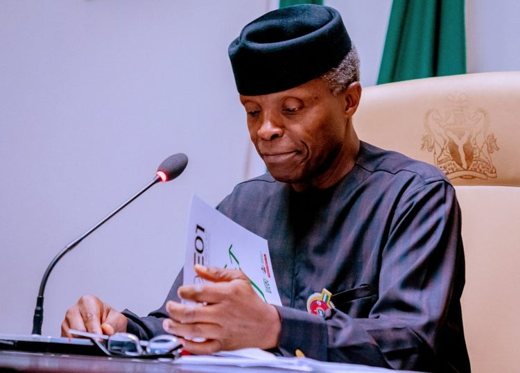 Osinbajo will become Nigeria's President this year:  Ghanaian Prophet