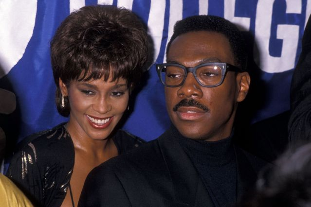 Eddie Murphy told Whitney Houston it'd be 'a mistake' to marry Bobby Brown hours before wedding