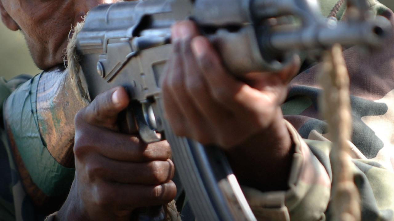 Gunmen storm church, kill policeman during service
