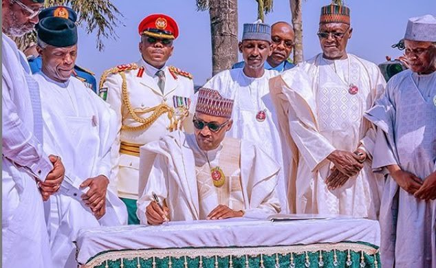 Armed Forces Remembrance Day: Buhari, CJN, others honour fallen heroes
