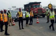 Traffic diversion at 'Kara Bridge' of Lagos-Ibadan r~oad after Yuletide