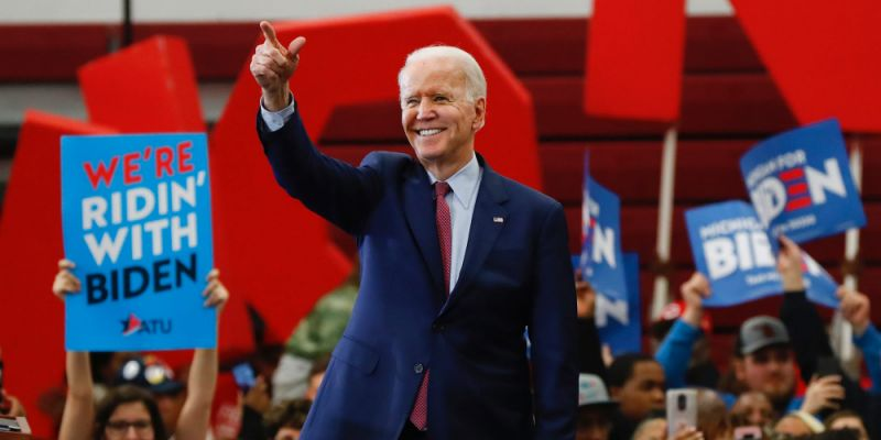 Woman who accused Biden of inappropriate touching says she supports him as the 'obvious choice' to defeat Trump