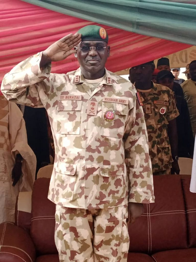 Buratai tasks personnel on equipment handling