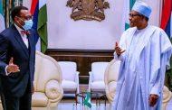Nigeria will stand by you, Buhari tells AfDB President Adesina