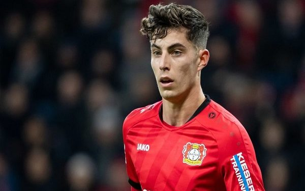 Havertz admits Premier League is 'much tougher than the Bundesliga' after testing Chelsea debut