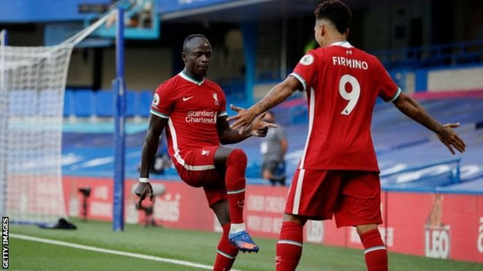 Chelsea 0-2 Liverpool: Sadio Mane nets double against 10-man Blues