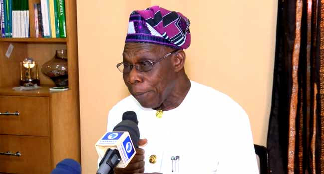 Nigeria is falling apart under Buhari:  Obasanjo