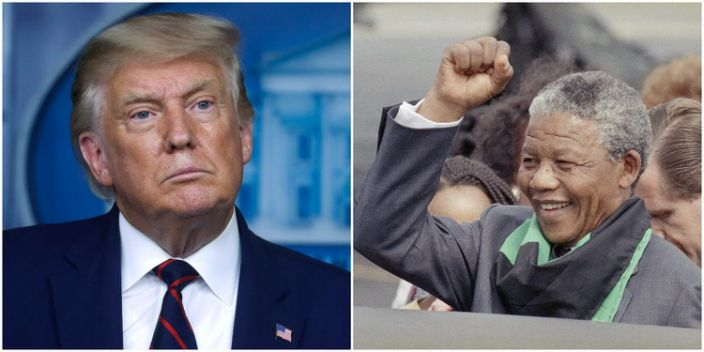 Trump reportedly said no country run by Black people is any good, and that Nelson Mandela left South Africa a 's---hole country'