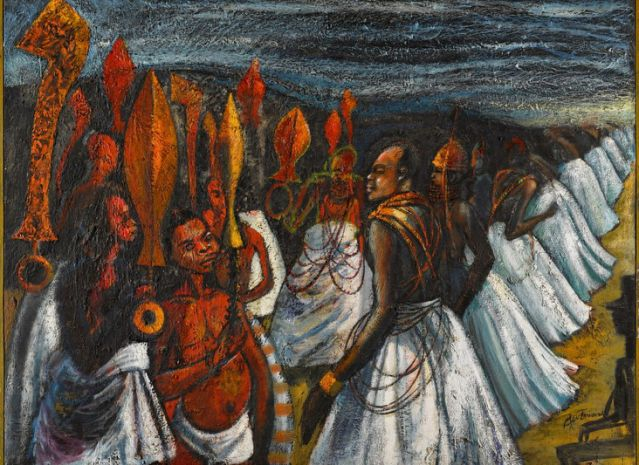 Once unknown Nigerian 'masterpiece' by Ben Enwonwu up for sale
