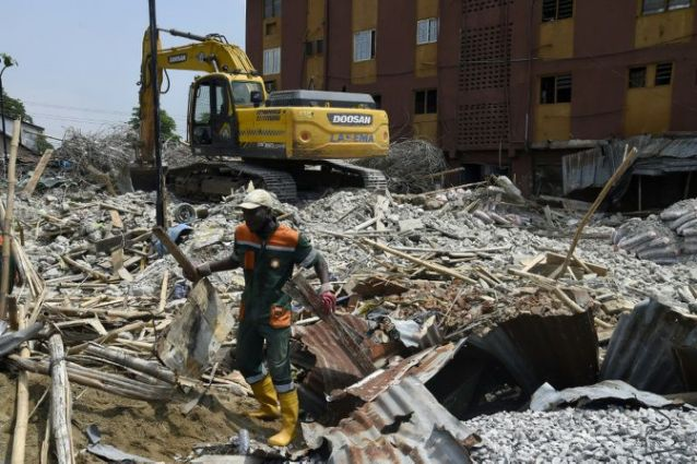 Building collapse: Eight die in Lagos