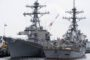 Russia chases off U.S. warship in spat over territorial waters