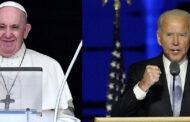 Pope Francis Congratulates Joe Biden