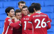 Brighton 1-1 Liverpool: Pascal Gross' controversial stoppage-time penalty denies champions