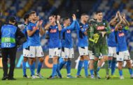 Napoli crush Fiorentina 6-0 to go third in Serie A