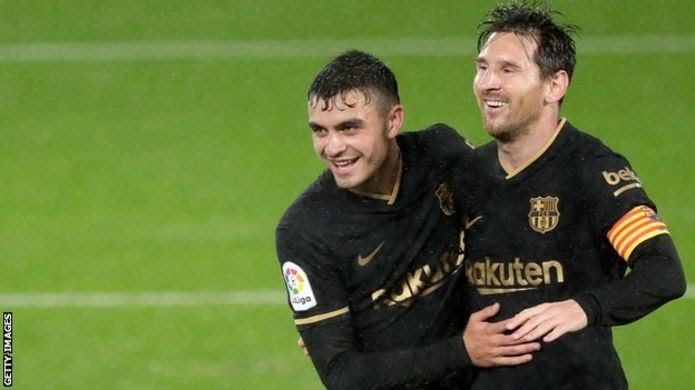 Messi finds playmaking partner in 18-year-old Pedri