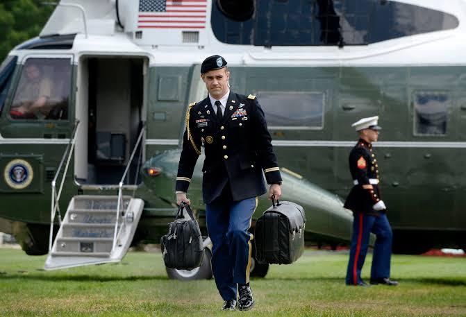 Trump won't hand off  the nuclear football to Biden