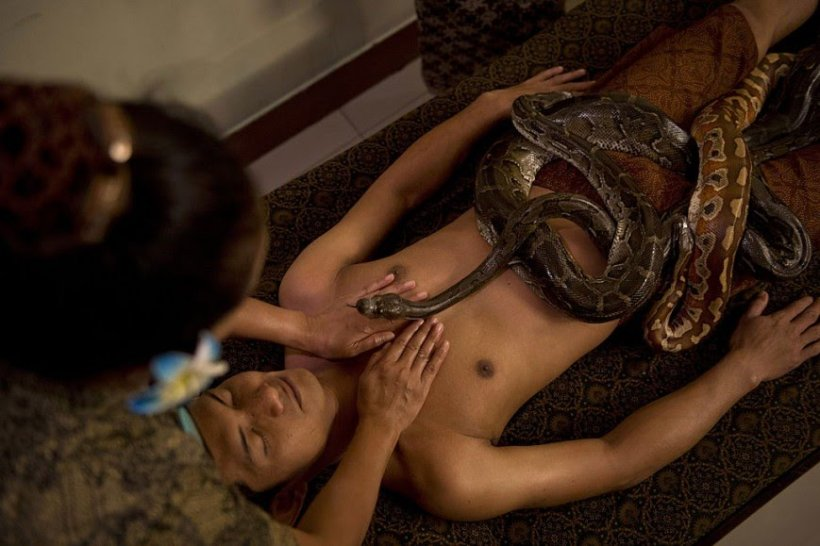 Woman confesses how fake church brainwashed her to have sex with snakes