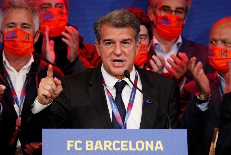 Laporta elected FC Barcelona President