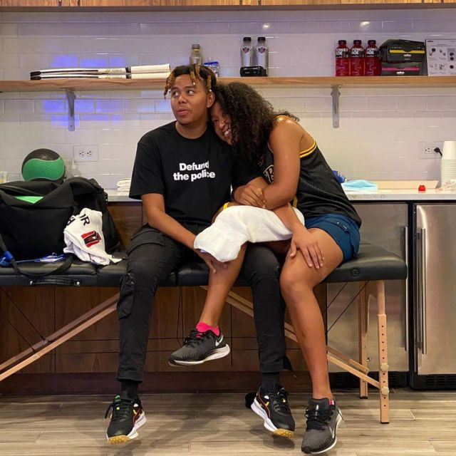 Naomi Osaka says boyfriend Cordae 'stopped everything' to quarantine for her U.S. Open finals win