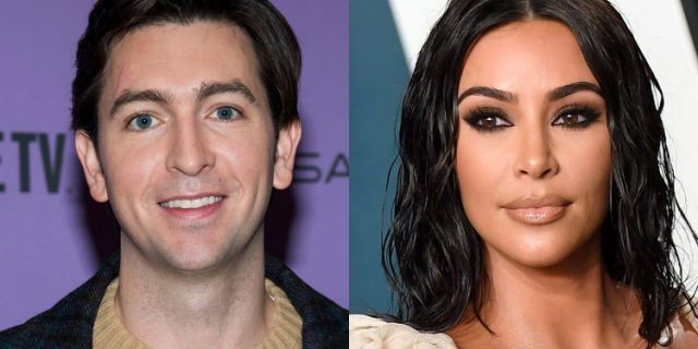 Succession' star Nicholas Braun says Kim Kardashian 'didn't respond' after he tried to ask her out on Instagram