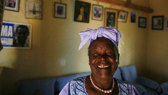 Barack Obama's Kenyan grandmother dies at 99