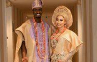 Super Eagles Striker Peter Olayinka,  Nollywood actress Barnabas hold wedding introduction